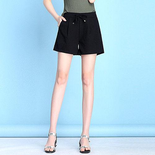 高腰直筒薄款短褲(2色S~3XL)【OREAD】 - 限時優惠好康折扣