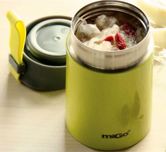 migo燜燒罐400ml 304不銹鋼內外 真空強效保溫  悶燒罐 / 燜燒壺 / 保溫飯盒 304不鏽鋼 9