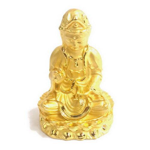 觀世音菩薩 5.5公分 小佛像/法像-金色