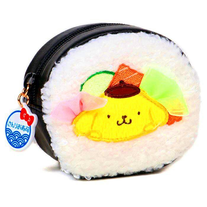 壽司造型包 三麗鷗 酷企鵝 布丁狗 拉鍊小包包 日本進口正版授權