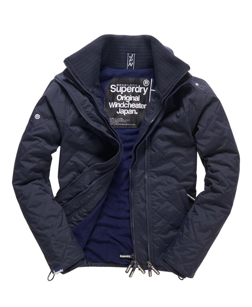 極度乾燥 Superdry Quilted Arctic Windcheater Jacket 絎縫框式夾克 17年新款 防風保暖 男款 深藍