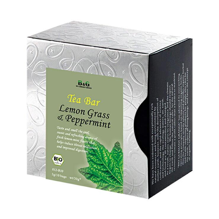 【B&G 德國農莊 Tea Bar】冷薄荷花茶 10入茶包盒 (3g x10)