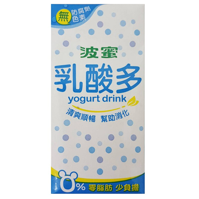 波蜜乳酸多 160ml (24入)/箱【康鄰超市】【康鄰超市】
