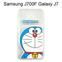 小叮噹週邊商品推薦哆啦A夢空壓氣墊軟殼 [大臉] Samsung J700F Galaxy J7 小叮噹【正版授權】