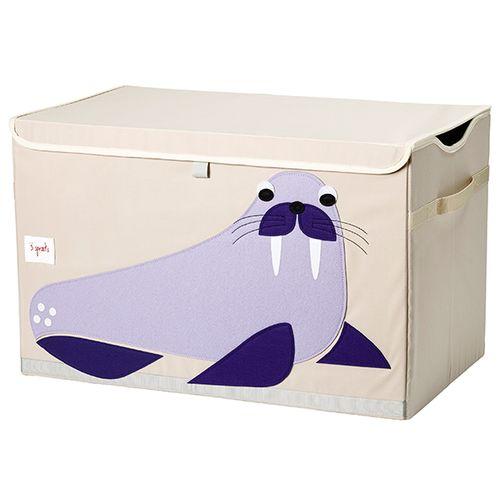 加拿大 3 Sprouts玩具收納箱-海象★愛兒麗婦幼用品★