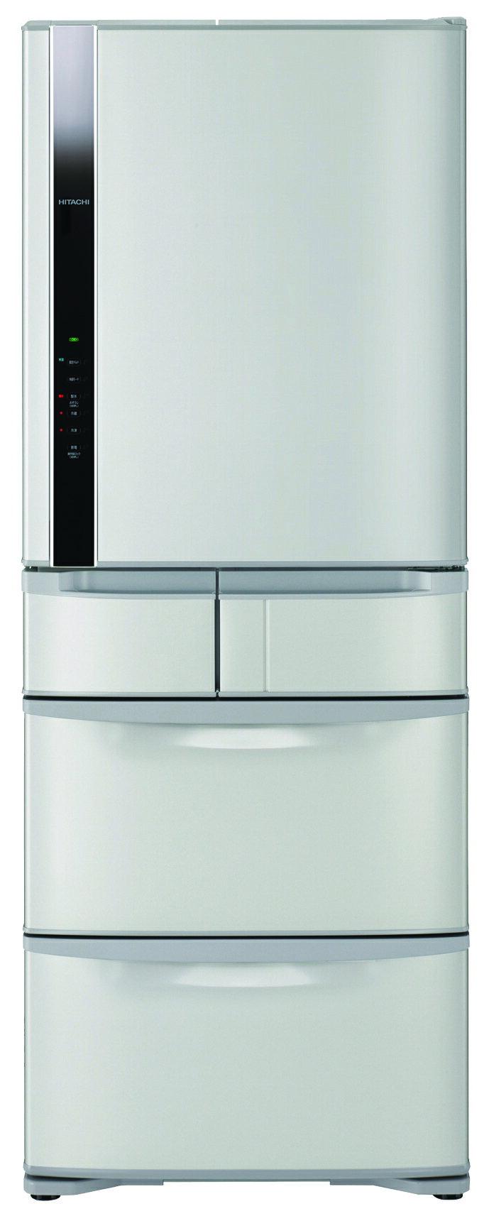 【HITACHI日立】日本原裝變頻477L。五門電冰箱/星燦不銹鋼(RS49FJ)