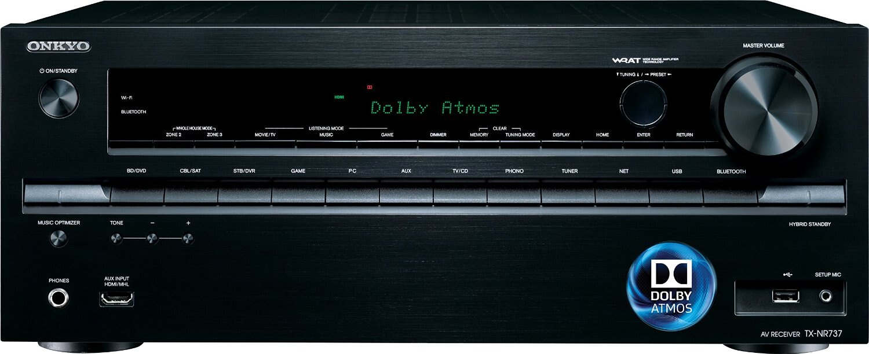 全新Onkyo TX-NR737 藍光擴大機~DOLBY ATMOS 7.2-Ch