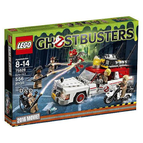 樂高積木 LEGO《 LT 75828 》Ghostbusters 系列 >魔鬼剋星 - 捉鬼車