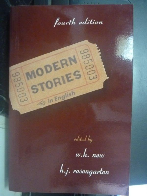 ~書寶 書T9/原文小說_ZHZ~Modern Stories in English_Ro