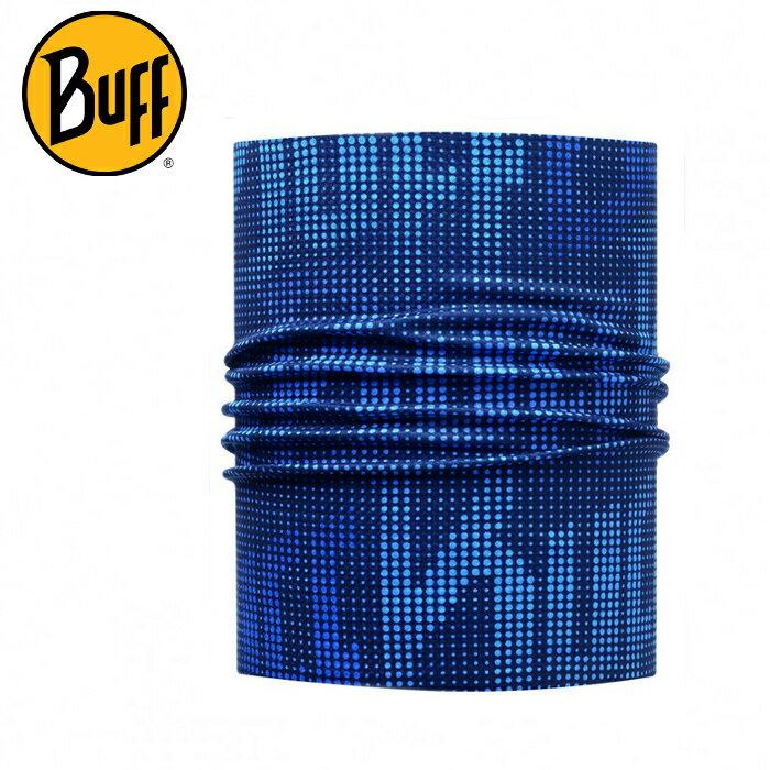 Buff 快乾頭盔巾/排汗頭巾/脖圍 Helmet Liner Pro 113698-790 海軍紋藍 馬拉松/自行車/路跑