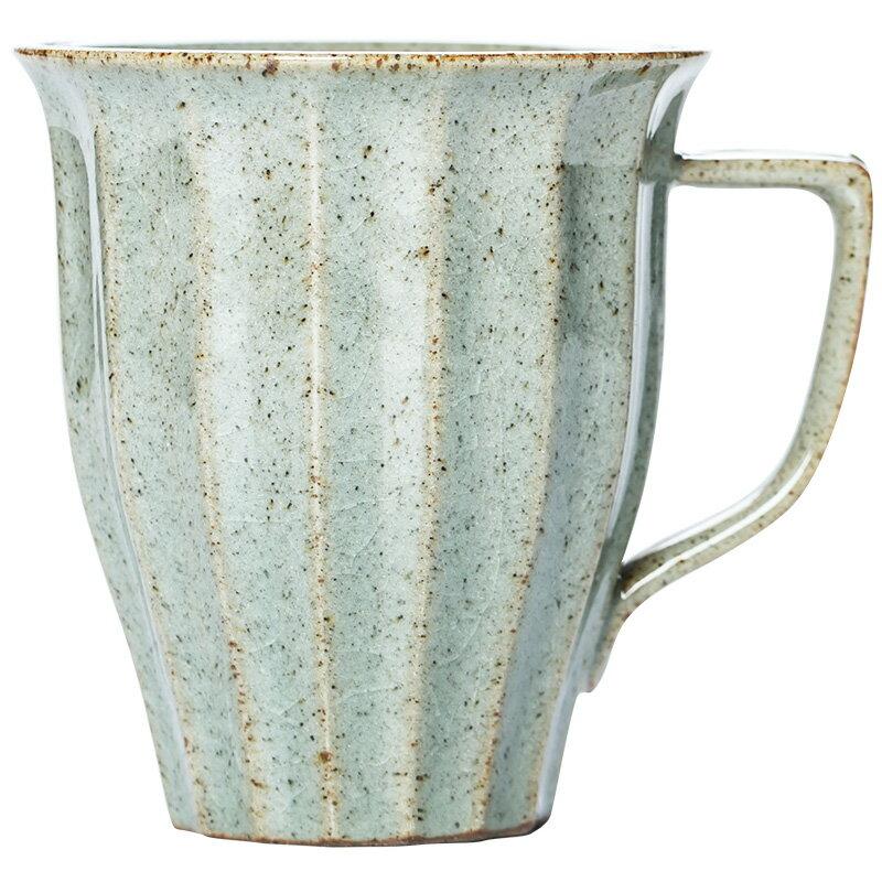 歐式馬克杯復古陶瓷杯子北歐辦公室泡茶杯咖啡杯個人杯牛奶杯果汁