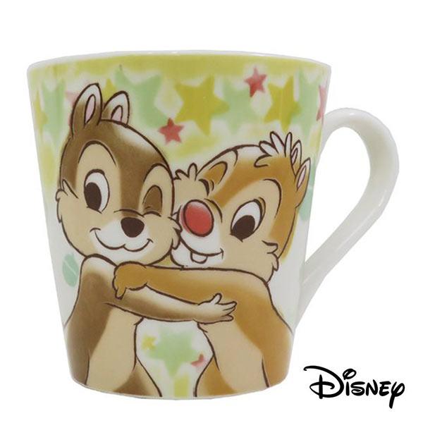 【日本進口】奇奇蒂蒂 陶瓷 馬克杯 300ML 咖啡杯 迪士尼 Disney - 058013