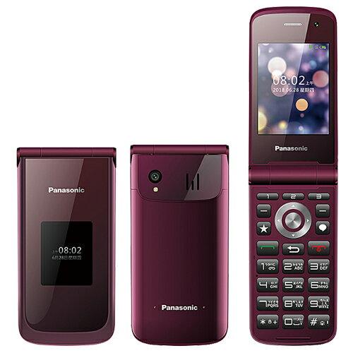Panasonic VS-200 2.8吋雙大畫面4G御守機-贈8G記憶卡+韓版收納包+指環支架+奈米噴劑 2