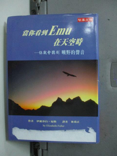 【書寶二手書T1/翻譯小說_LFQ】當你看到EMU在天空時_伊莉莎白福勒