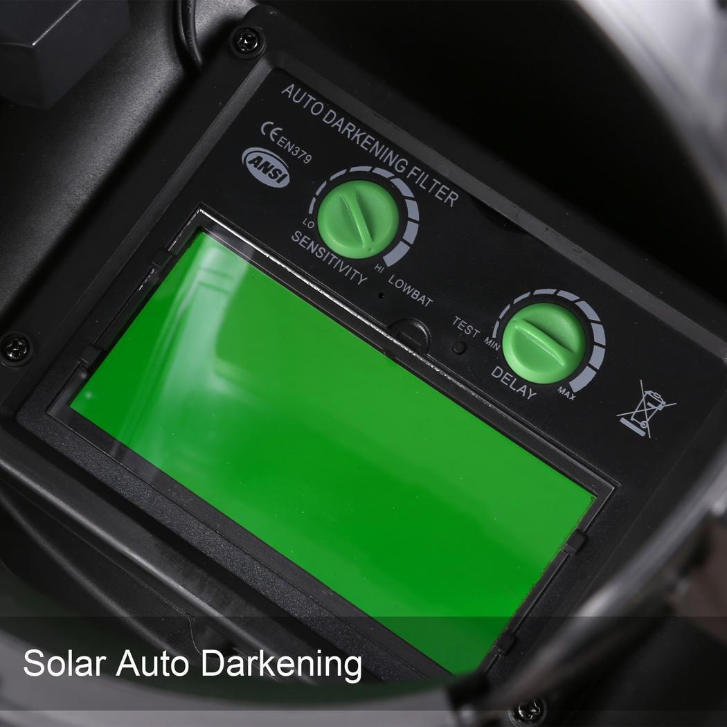Solar Arc Tig Mig Auto-Darkening Welding Helmet Professional Mask 3