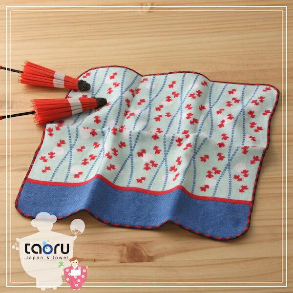 日本毛巾:町娘物語_撈金魚日25*25cm(手巾--taoru日本毛巾)