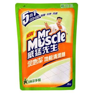 威猛先生 愛地潔地板清潔劑 補充包-森林芬多精 1800ml