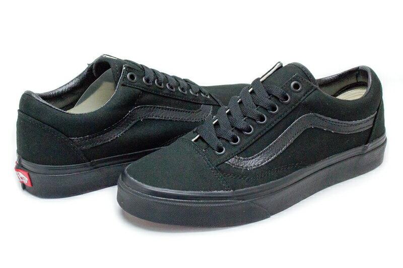 ☆Mr.Sneaker☆ VANS OLD SKOOL 帆布 基本款 百搭 經典 全黑 男女段