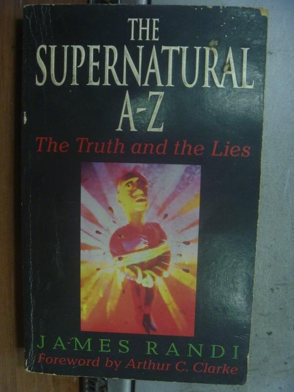 【書寶二手書T7/原文小說_OTY】The Supernatural A-Z_James Randi