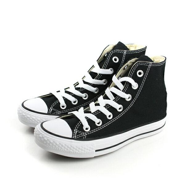 CONVERSE ALL STAR HIGH 帆布鞋 黑 男女款 M9160C no986 0