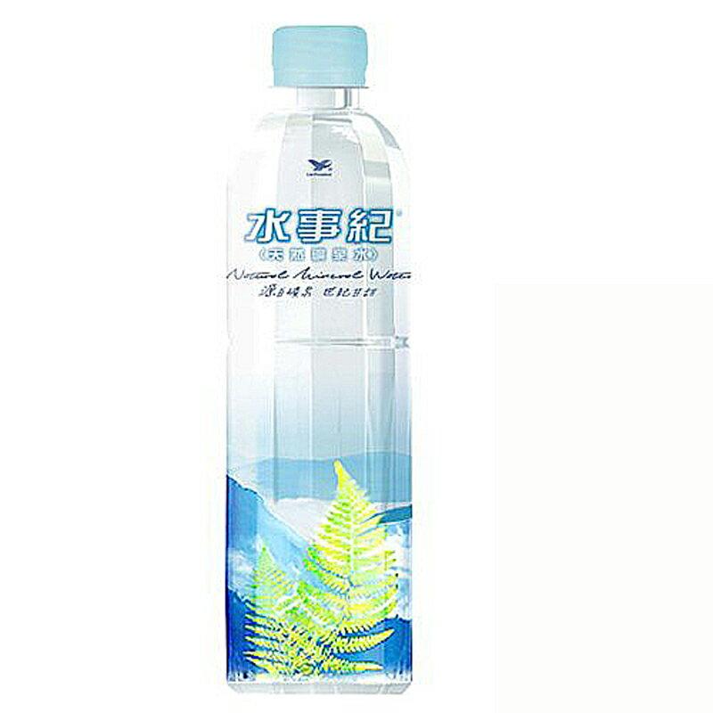 統一水事紀 天然礦泉水 600ml (24入)x2箱【康鄰超市】