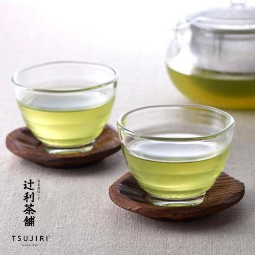 【辻利茶舗 x HARIO】耐熱湯吞小茶杯2入組。高品質耐熱玻璃製成,可耐熱120度。冷熱飲皆可使用,亦適用於烤箱與微波爐。原廠公司貨。 1
