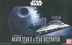 ☆勳寶玩具舖【鋼彈現貨】星際大戰 STAR WARS 1/2700000 死星 II & 1/14500 滅星者
