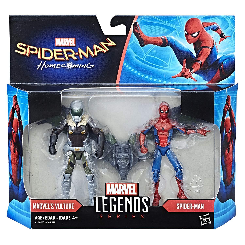 (卡司 正版現貨)Marvel Legends Series 3.75吋 蜘蛛人 返校日 蜘蛛人 禿鷹 雙人包