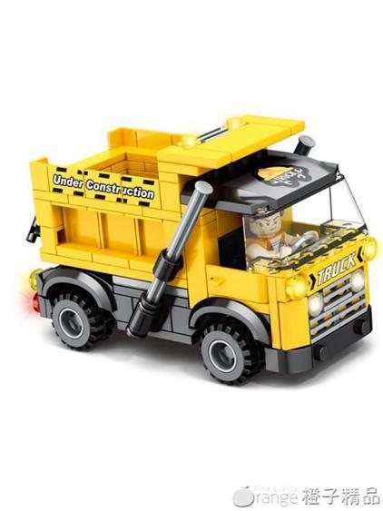 開益兒童益智拼裝積木玩具男孩禮物創意軍事拼插積木玩具飛機模型