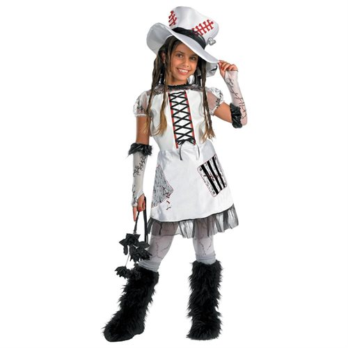 Disguise Inc 32749 Monster Bride Child Halloween Costume Size 14-16 0