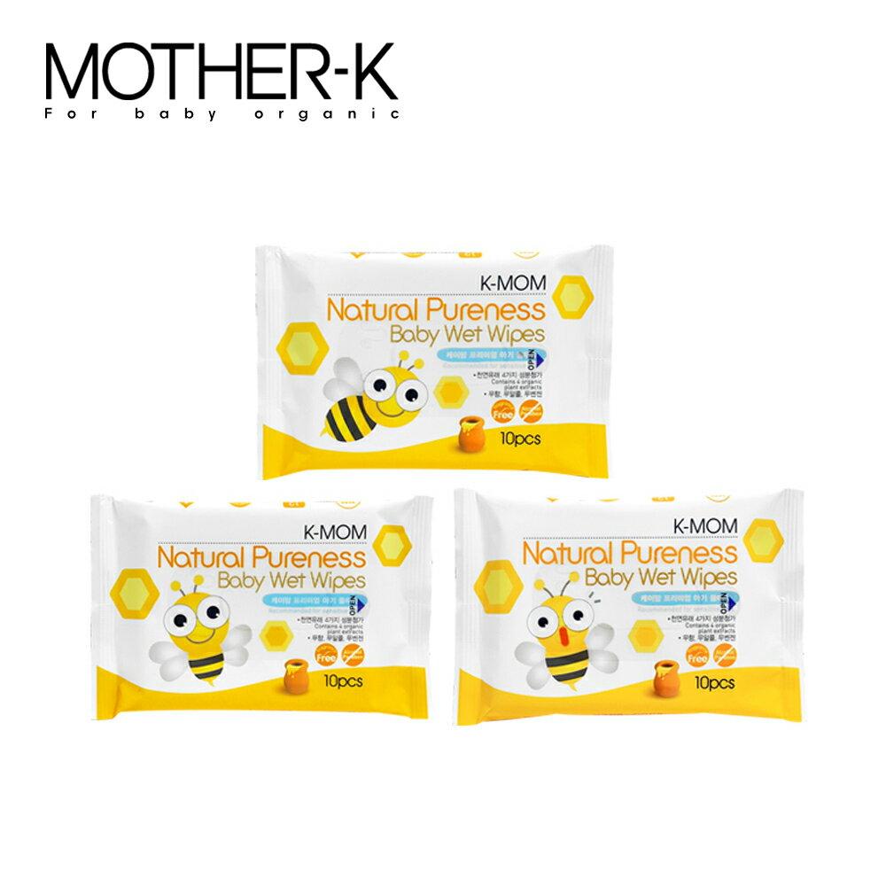 【MOTHER-K】天然嬰幼兒濕紙巾 / 輕巧款10抽 0