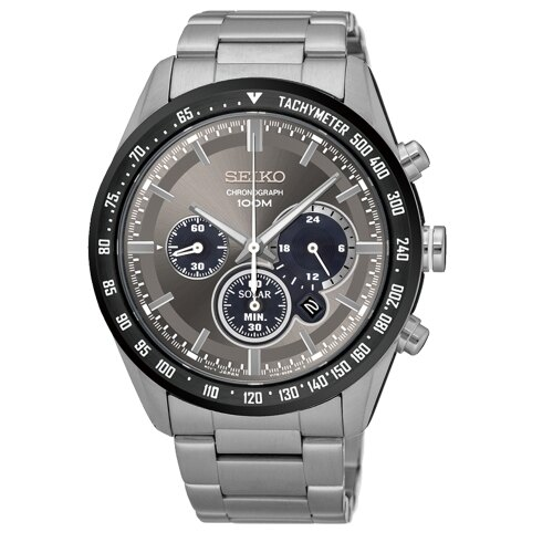SEIKO Criteria 率性太陽能計時腕錶  V175~0DK0G  SSC467P