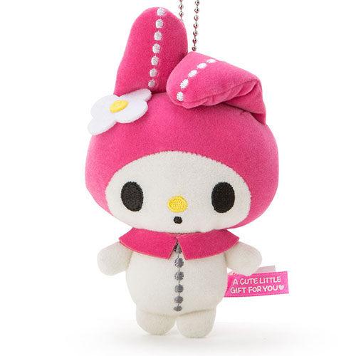 《Sanrio》日本代購 現貨 三麗鷗 玩偶珠鍊吊飾 【美樂蒂】 【快樂熊雜貨舖】