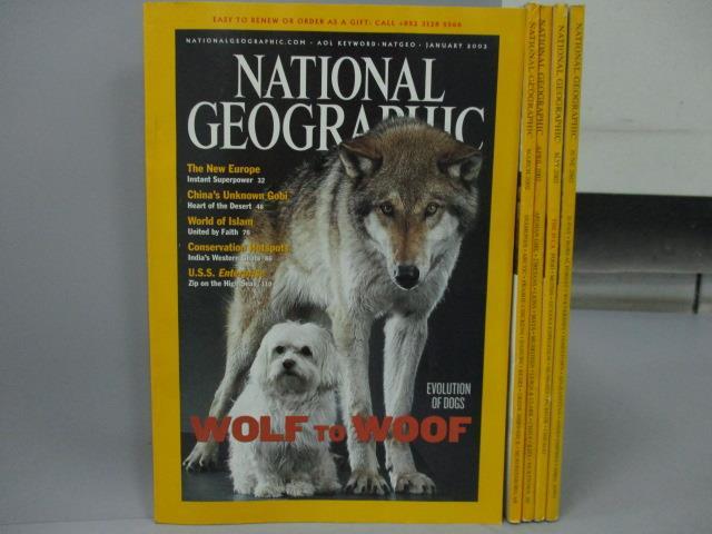 ~書寶 書T8/雜誌期刊_XCG~National Geographic_2002  1~