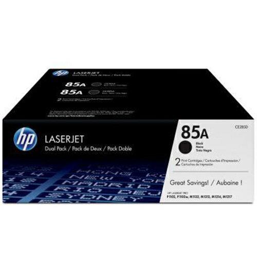 ~HP~CE285AD 黑色碳粉匣雙包裝 85A