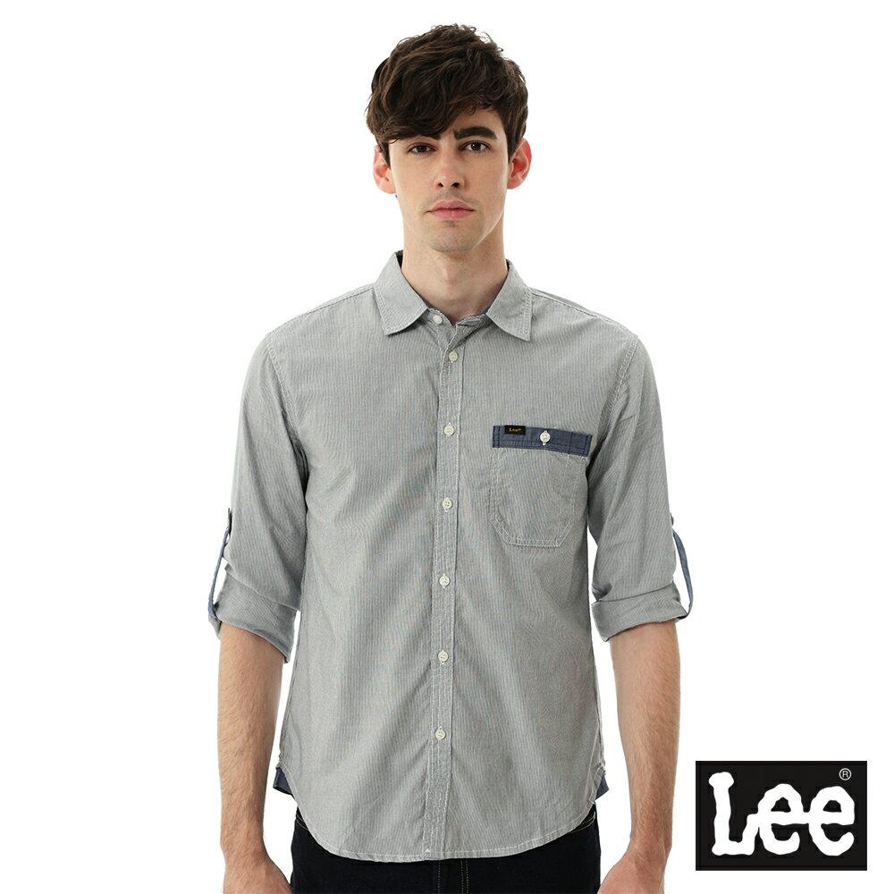 Lee 條紋長袖襯衫 0