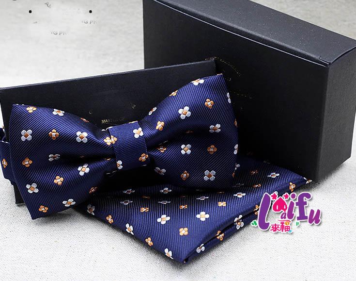 來福~k594領結口袋巾小花組西裝口袋巾西裝手帕巾,單口袋巾109元