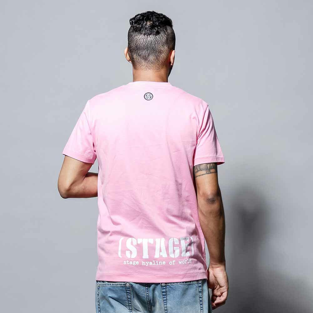 STAGE SNIPER SS TEE 黑色/粉紅色 兩色 1
