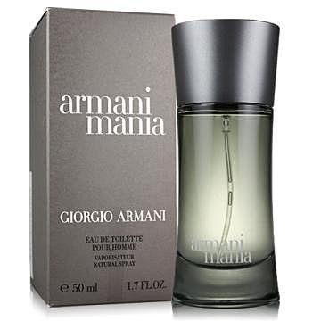 香水1986☆Giorgio Armani Mania 亞曼尼狂熱男性淡香水 50ml