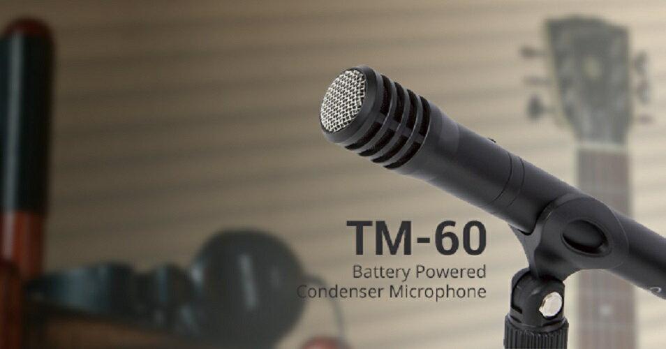 達斯冠 TASCAM TM-60 電容式麥克風 公司貨 網路 直播 樂器 錄音 MIC 支架 收音 音樂 吉他 鋼琴 1