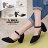 ★399免運★格子舖*【KW902】MIT台灣製 韓版性感風格 質感皮質舒適繞踝 瑪莉珍尖頭鞋 5cm粗高跟鞋 4色 0