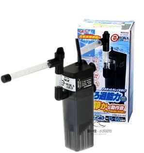 [第一佳水族寵物]日本五味GEX沉水過濾器+雨淋管[PF-381](可做兩棲烏龜過濾器)免運