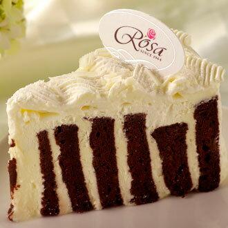 【羅撒法式西點】巧克力奶醇香慕斯蛋糕~「邱比特」★樂天歡慶母親節滿499免運