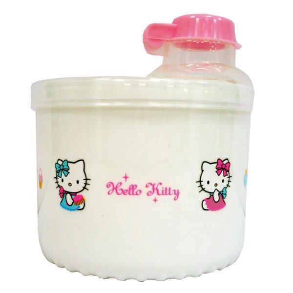 HelloKity凱蒂貓旋轉奶粉盒-白色【飛炫寶寶】