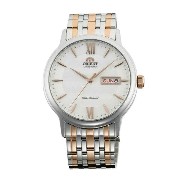 ORIENT東方錶ORIENT東方錶ClassicDesign系列(SAA05002W)藍寶石簡約腕錶鋼帶款白色40mm