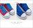 格子舖*【KB808】MIT台灣製 青春校園可愛星星撞色條紋 高筒綁帶帆布鞋 2色 2