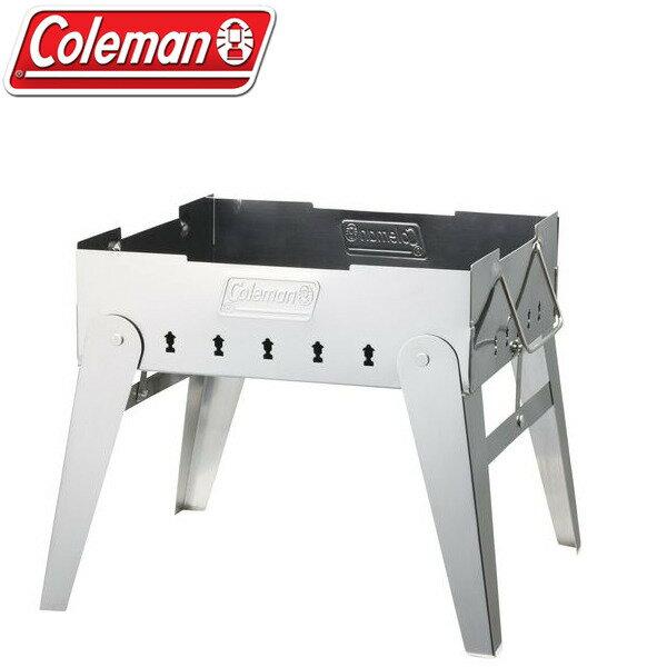 【露營趣】中和美國Coleman極致品味焚火台桌上型烤肉架營火晚會可放荷蘭鍋附燒網烤肉網CM-9434