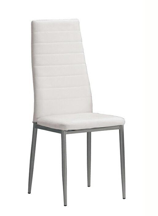 【尚品傢俱】CM-1026-16 奧爾登餐椅(白皮)