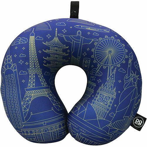 《DQ》緩衝顆粒護頸枕(世界藍圖)