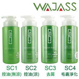 WAJASS威傑士 SC1 涼款 SC2控油 SC3去屑 SC4毛囊淨化洗髮精